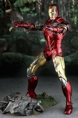 Hot Toys 1/6 Iron Man 2 Mark Vi Marvel Figura Colección