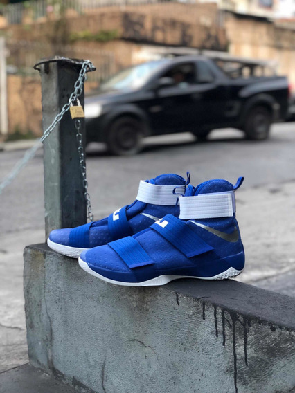 Tênis Nike Lebron Soldier 10 Tb (royal Blue)