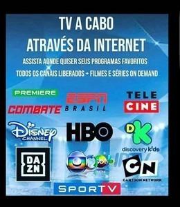 Você Tem Tv Smart Ou Tv Box Líbero Todos Canais Via Internet