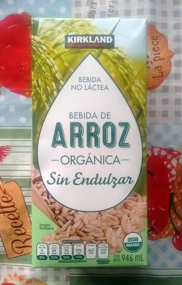 Leche De Arroz Organica 946 Ml Vegano Bebida