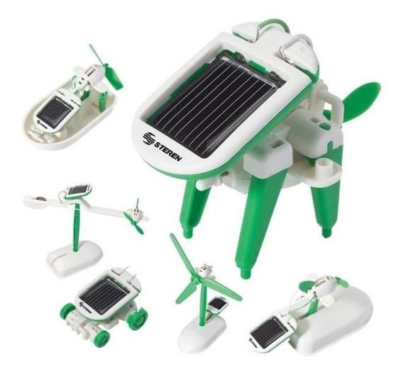 Kit Juguete Energía Solar 6 En 1 Niño Armar Educativo Steren