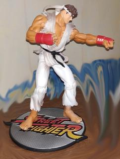 Street Fighter Ryu - Figura De Acción Articulable - 20x10