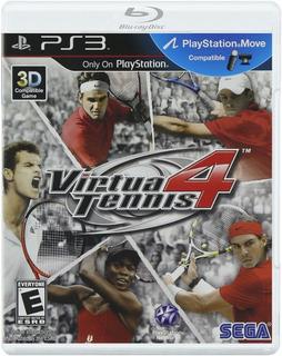 Virtua Tennis 4 Ps3 Nuevo Y Sellado