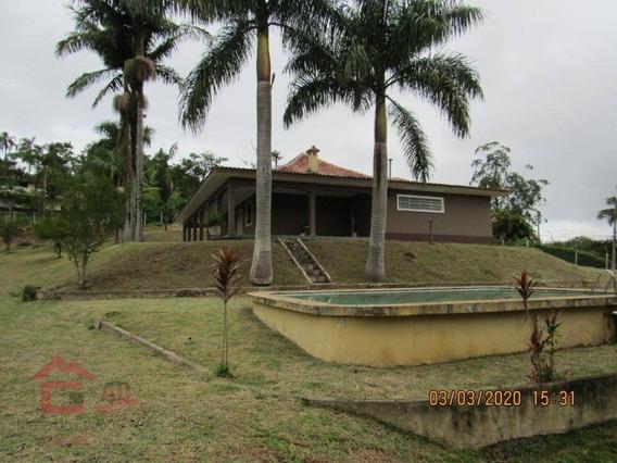 Chácara Com 4 Dormitórios Para Alugar Por R$ 2.500,00/mês - Parque Das Rosas - Cotia/sp - Ch0034