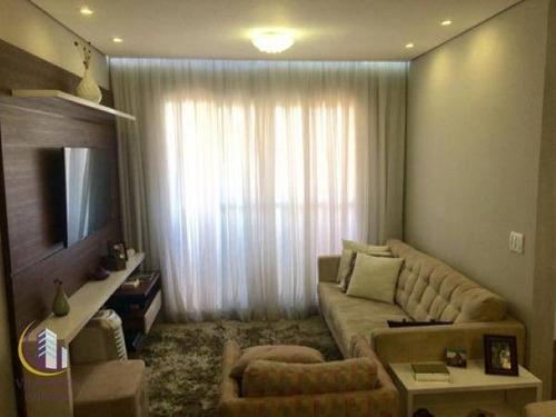Apartamento Com 2 Dormitórios À Venda - Jaguaribe - Osasco/sp - Ap1941