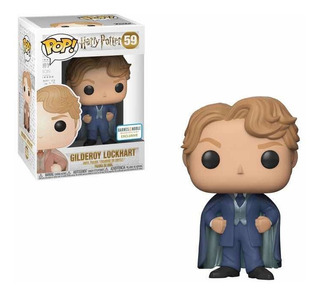 Funko Pop Gilderoy Lockhart 59 Barnes & Noble Harry Potter
