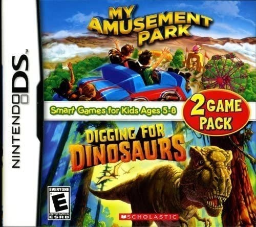 My Amusement Park / Digging For Dinosaurs Juego Ds