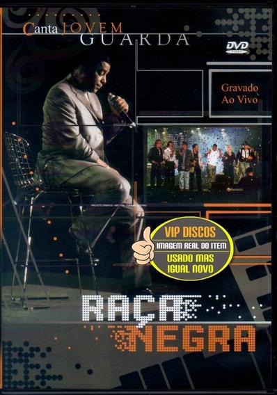 Dvd Raça Negra Canta Jovem Guarda Original Excelente Estado