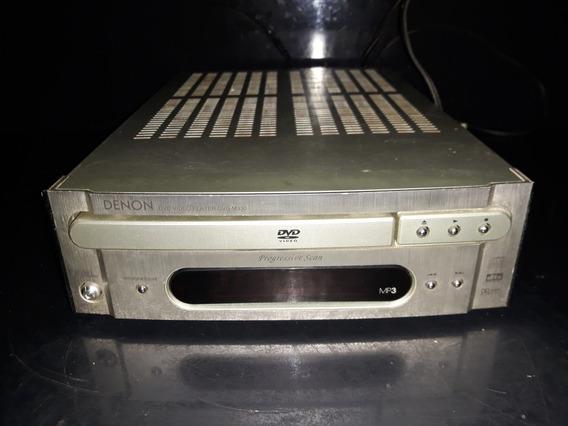 Raro Som Antigo Denon Cd Dvd Player M330 Ñ Ok Gradiente One