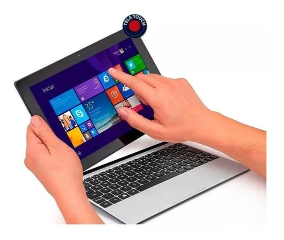 Notebook Touch Screen 2 Em 1 Tablet Positivo 16gb Seminovo