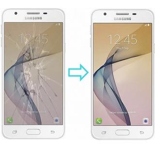 Cambio De Vidrio Pantalla Glass Samsung J5 Prime En El Día