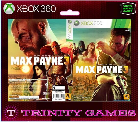 Max Payne 3 - Jogo Para Download Da Live Xbox