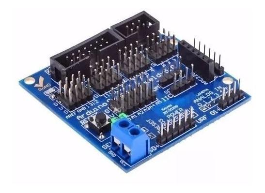 Modulo Sensor Shield V5 Digital Analogico Expansão Arduino