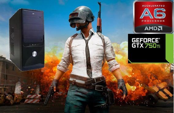 Pc Gamer Amd A6 3670 2.7ghz 8gb Nvidia 750ti 2gb