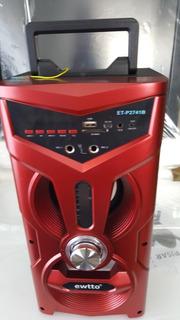 Parlante Con Bluetooth Ewtto 10w
