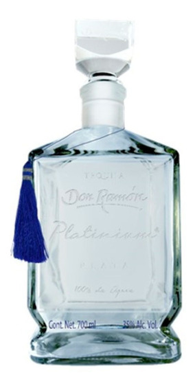 Tequila Don Ramón Plata Platinium 700 Ml Bodegas La Negrita