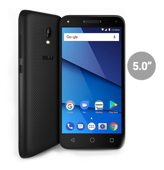 Celular Blu Dash L5 4g Lte 1gb 8gb Doble Camara Flash Nuevo