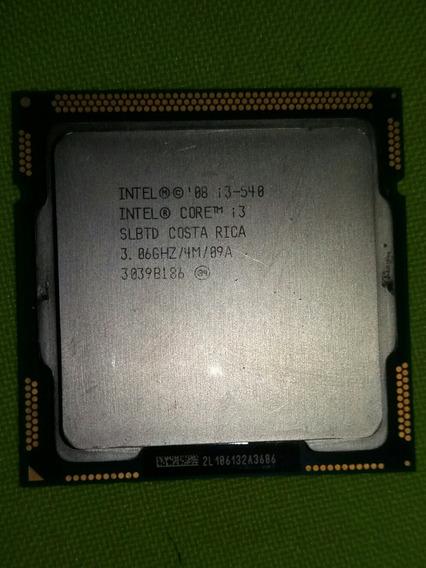 Processador Intel Core I3 - 540 Socket 1156(funcionando!)