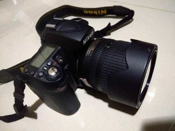 Câmera Nikon D90 Com Lente 18 - 105mm