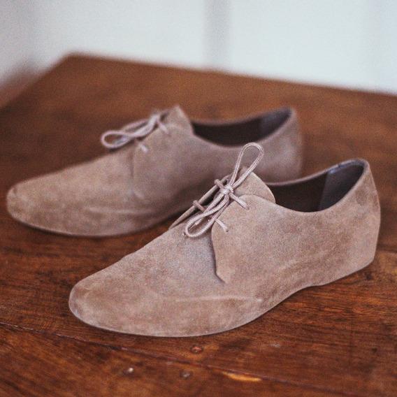 Zapatos Hombre Melissa Gamuza M Zero Talle 41