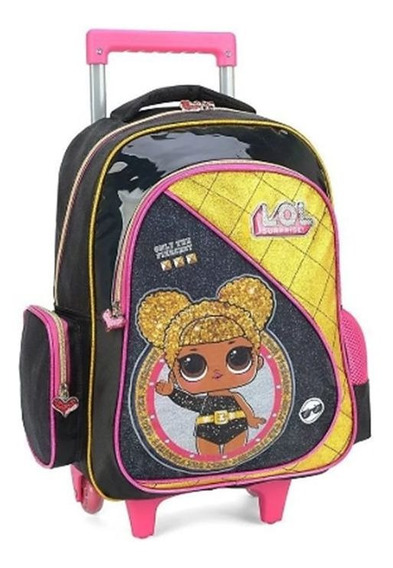 Mochila Infantil Glitter Dance Lol 011518