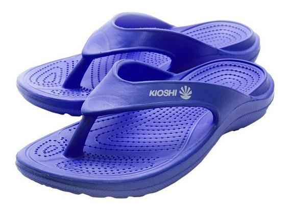 Ojotas Kioshi Flip Flops Azul Lima Men