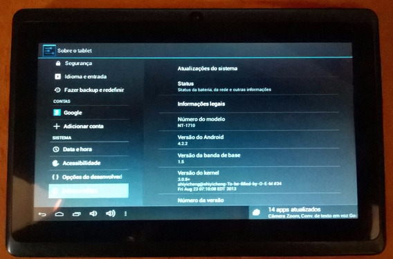 Tablet Navcity Nt1710 Android 4.2.2