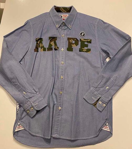 Bape Bathing Ape Aape Camisa Original