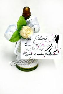 Burbujero Boda Matrimonio Recordatorio Bombas Jabon Invitac