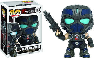 Funko Pop Clayton Carmine 113 Gears Of War Muñeco Coleccion