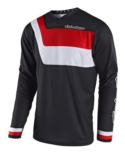 Remera Motocross Troy Lee Gp Prisma Negro