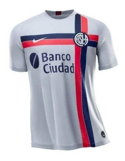 Camiseta San Lorenzo Alternativa Gris 2019 Adultos