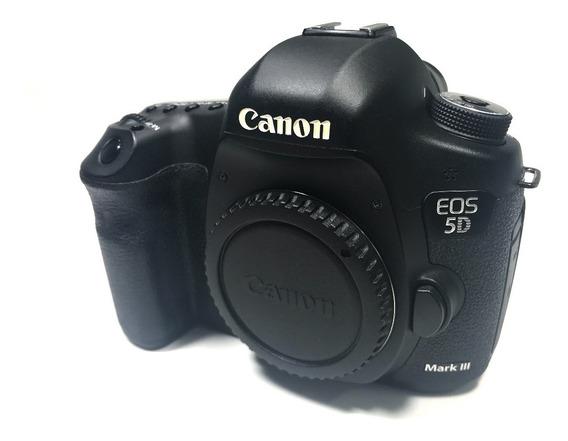 Camera Canon 5d Mkiii Na Caixa Pouco Uso! + Gripe Confira!