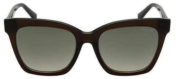 Óculos De Sol Hickmann Hi9071 - Espelhado - Marrom
