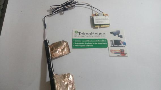 Placa Wi Fi Com Antena E Cabo