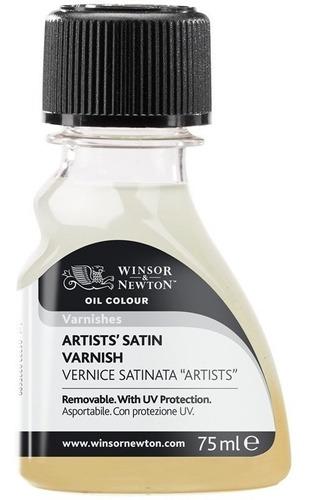 Verniz Liquido Satinado Para Pinturas A Oleo 75ml Varnishes