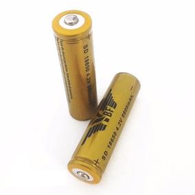 2 Bateria Pilha 18650 9800mah 4,2v Lítio Recarregável