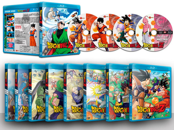 Dragon Ball Z Serie Completa Em Blu-ray - Trial Audio 1080p