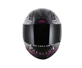 Capacete Norisk Ff391 Beauty Preto/zebra
