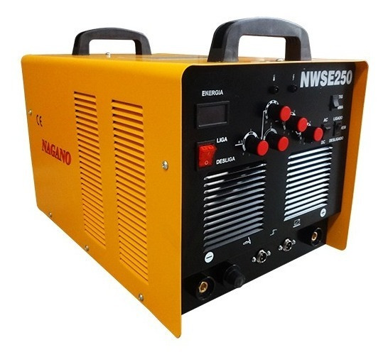 Máquina De Solda Tig 250a Inversora Ac/dc Alumínio Nwse250