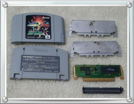 Jogo Star Fox 64 Original Japonês N64 Nintendo 64