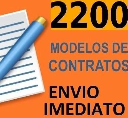 2200 Modelos De Contratos Envio Por Email - Digital