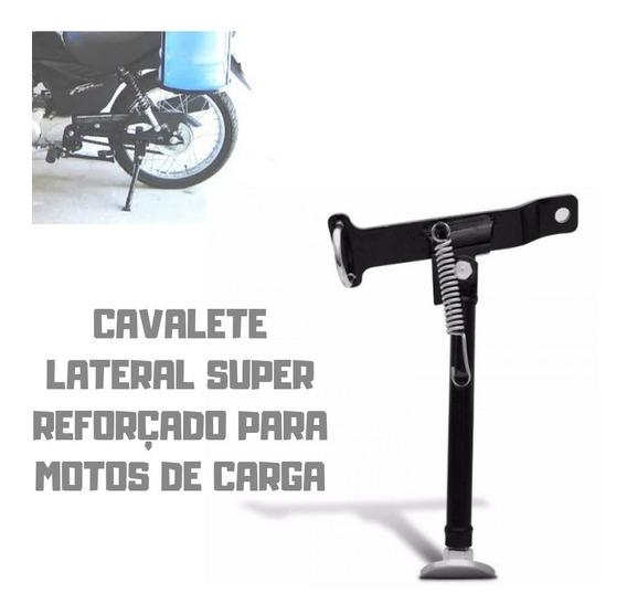 Cavalete Lateral Super Reforçado P/ Motos Todas Até 160 Cc