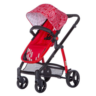 Dream On Me Mia Moda Marisa Three-in-one Carriola, Rojo