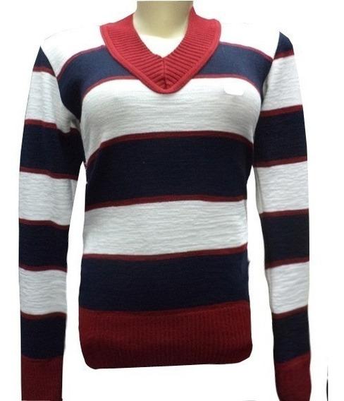 Kit 10 Blusas Frio Feminina Casacos Listrado Suéter Lã Trico