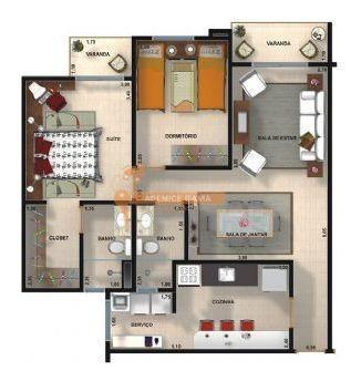 Vende-se Apartamento Em Jundiaí - 217