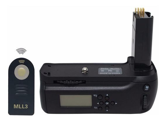 Battery Grip Mml3 Lcd Nikon Nikon D80 D90 Mb-d80
