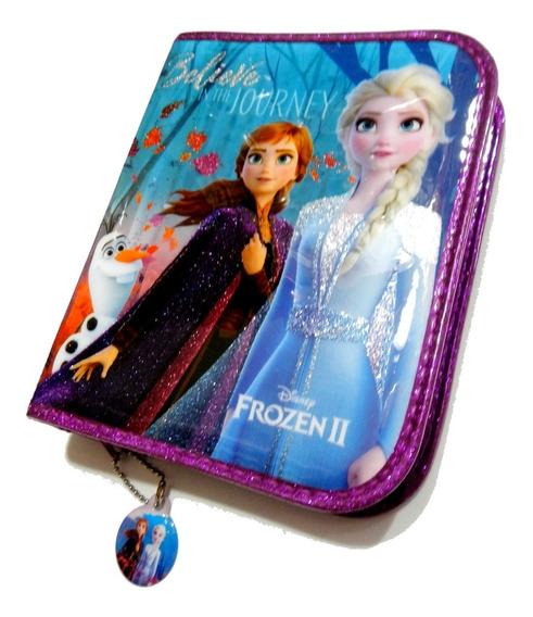 Cartuchera Disney Frozen 2 Con Cierre 1 Piso Original