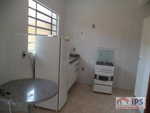Kitnet Com 1 Dormitório Para Alugar Por R$ 1.100,00/mês - Cidade Universitária - Campinas/sp - Kn0066