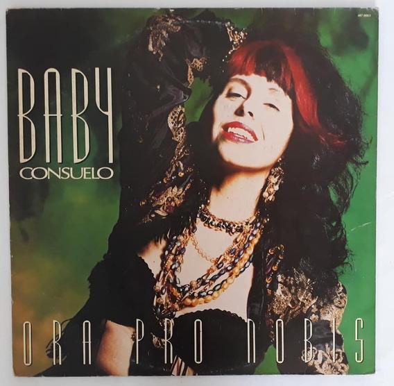 Lp Baby Consuelo - Ora Pro Nobis, Vinil C/ Encarte, Ano 1991